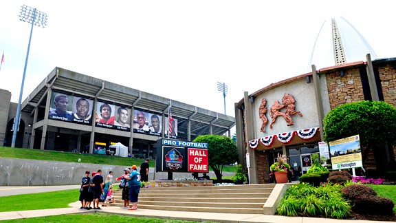 Pro Football Hall of Fame picture