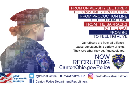 Image of the Police Recruitment Poster
